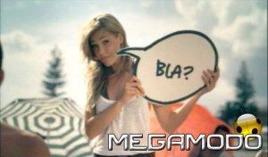 Ilary Blasy nello spot 2008 bla bla