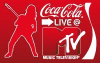 Logo di un Live precedente, di Coca Cola @ Mtv