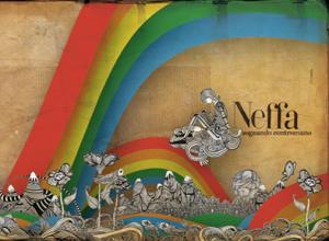 """Copertina del nuovo cd di Neffa, """"Sognando Contromano"""""""