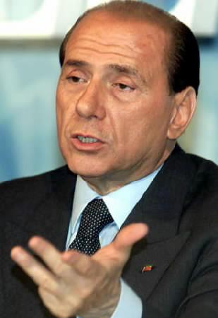 ... e Berlusconi