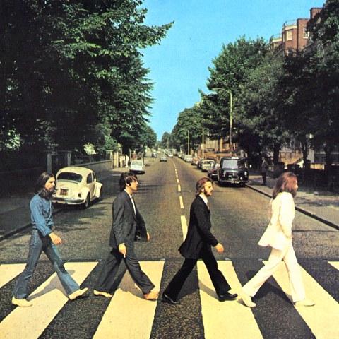 Copertina dell'ultimo Album dei Bealtes, Abbey Road